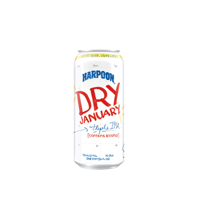 HARPOON DRY JANUARY