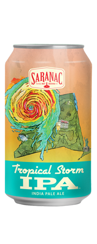 SARANAC TROPICAL STORM IPA